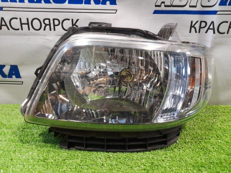 Фара Honda Zest JE1 P07A 2006 передняя левая 100-22620 ОТС, левая, галоген, с корректором, с планкой,