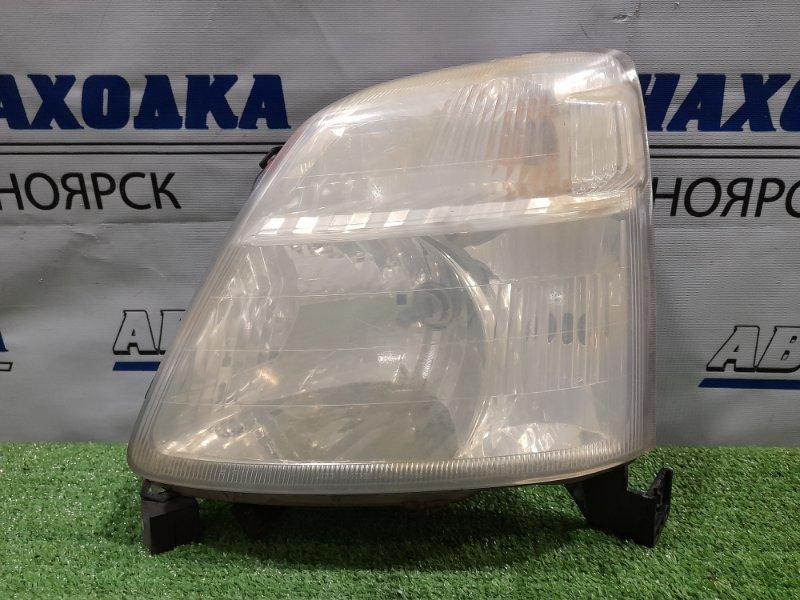 Фара Honda Capa GA4 D15B 1998 передняя левая 100-22306 левая, галоген, 100-22306, под полировку, подломано