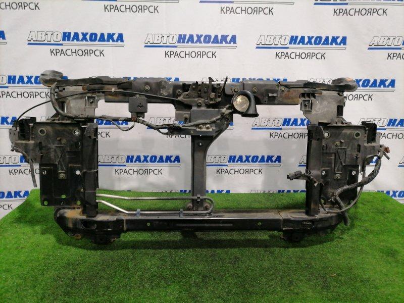 Рамка радиатора Nissan Murano PNZ50 VQ35DE 2004 Пластиковая, с замком капота, синалом, планками