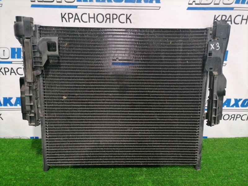 Радиатор кондиционера Bmw X3 E83 N52B25A 2006