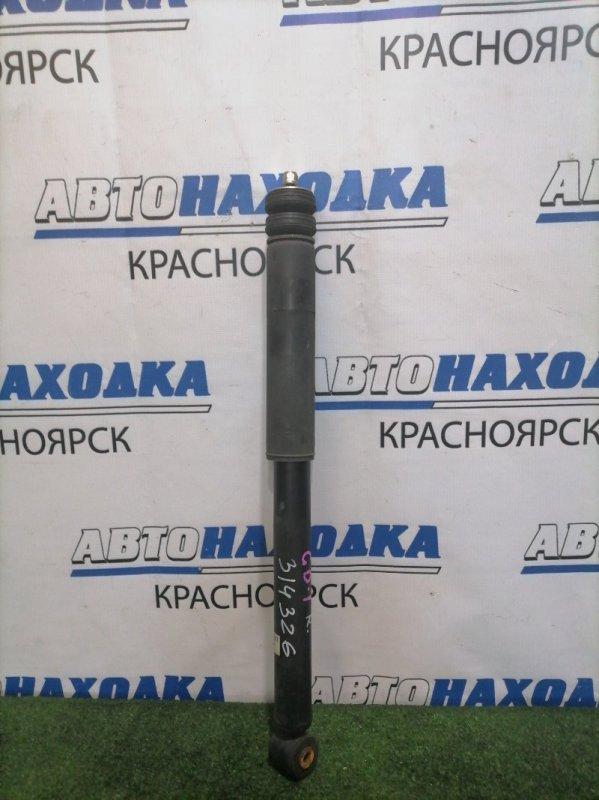 Амортизатор Honda Fit GD1 L13A 2001 задний, с пыльником