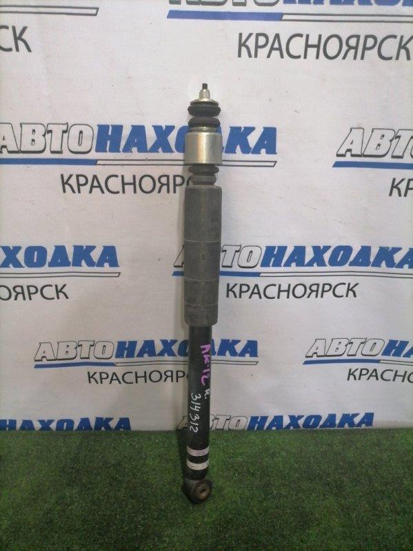 Амортизатор Nissan March AK12 CR12DE 2007 задний 56210CT40A Задний, с пыльником, с аукционного авто с