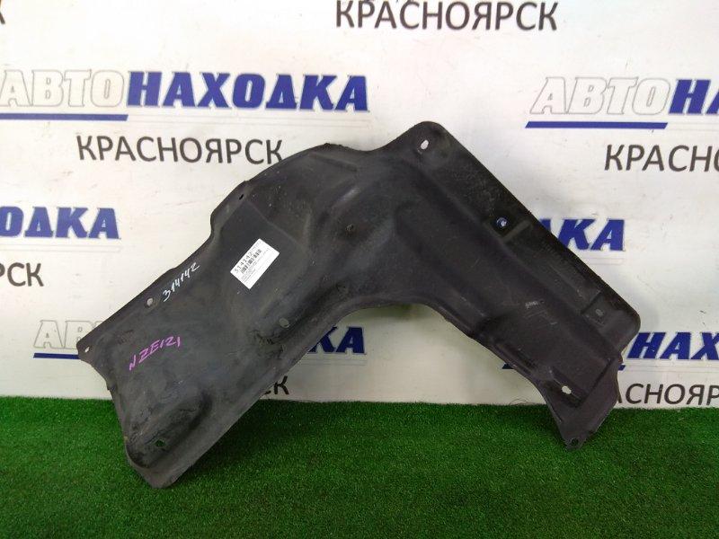 Защита двс Toyota Corolla Runx NZE121 1NZ-FE 2001 передняя правая передняя правая