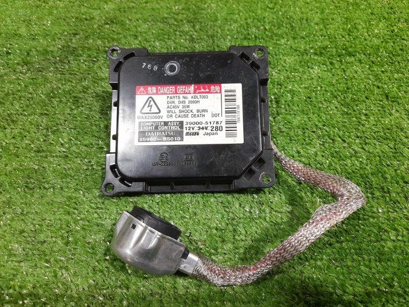 Блок розжига ксенона Daihatsu Passo KGC10 1KR-FE 2004 85960-B5010 ПОД ЛАМПУ D4R / D4S, с проводом на лампу