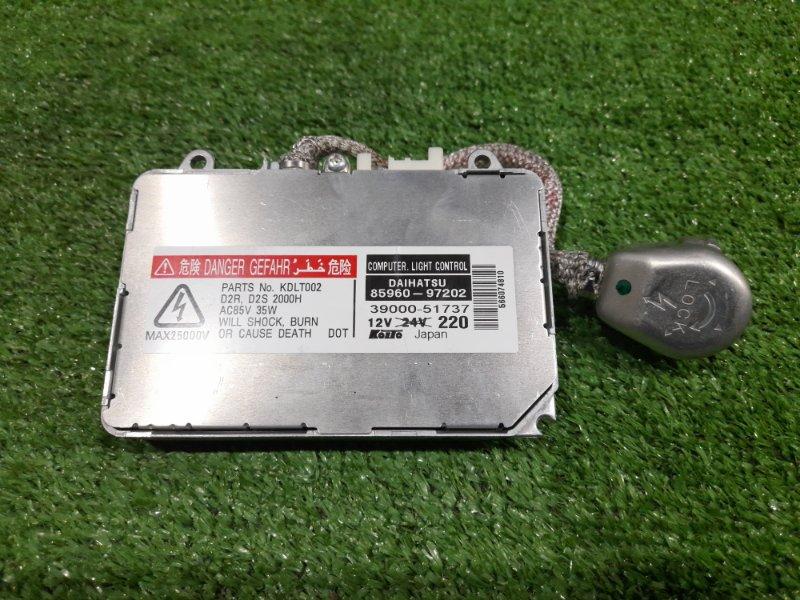 Блок розжига ксенона Daihatsu Move L150S EF-VE 2002 85960-97202 ПОД ЛАМПУ D2R / D2S, с проводом на лампу