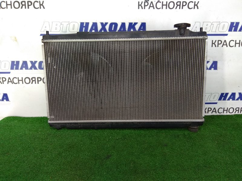 Радиатор двигателя Honda Fit GE8 L15A 2010 в сборе, 2 диффузора, 2 вентилятора и расш. бачок,