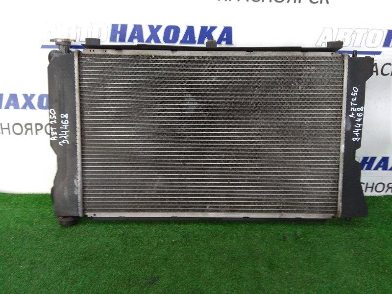 Радиатор двигателя Toyota Avensis AZT250W 1AZ-FSE 2003 в сборе, с диффузором и вентиляторами,