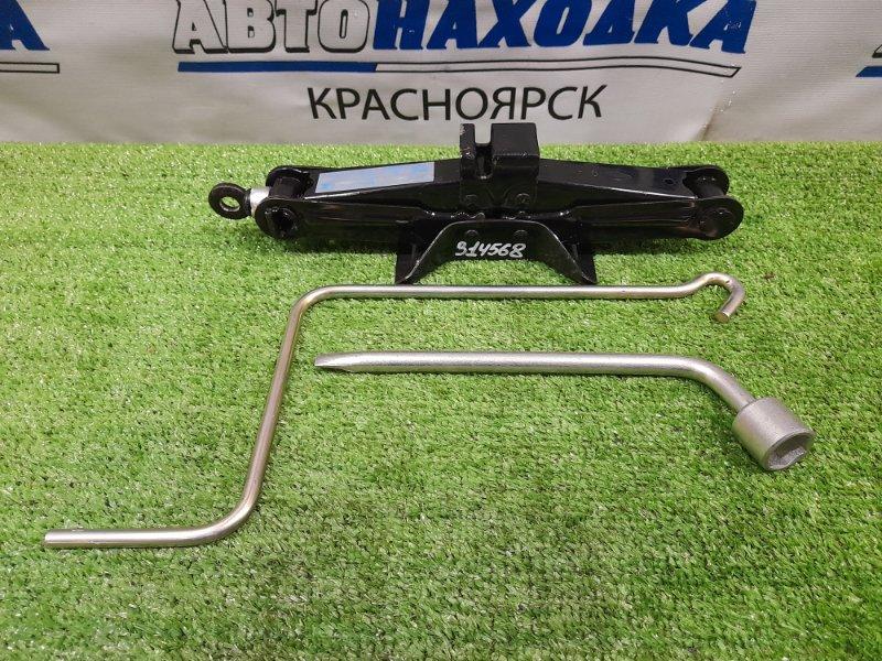 Домкрат Mazda Axela BL5FW ZY-VE 2009 Грузоподъемность 800 кг с ручкой, ключом на 21