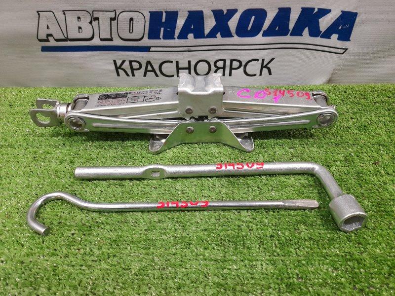 Домкрат Honda Fit GD1 L13A 2001 Грузоподъемность 850 кг с ручкой, ключом на 19