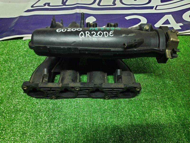 Коллектор впускной Nissan Wingroad WRY11 QR20DE 122151A пластиковый, ВПУСК.