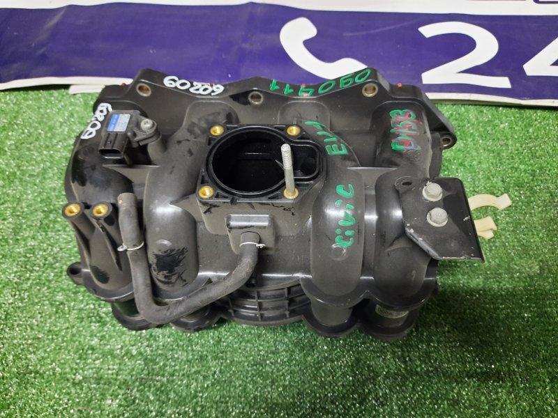 Коллектор впускной Honda Civic EU1 D15B 17000-PLD-0003 ВПУСК, ПЛАСТИК. +MAP 079800-5410