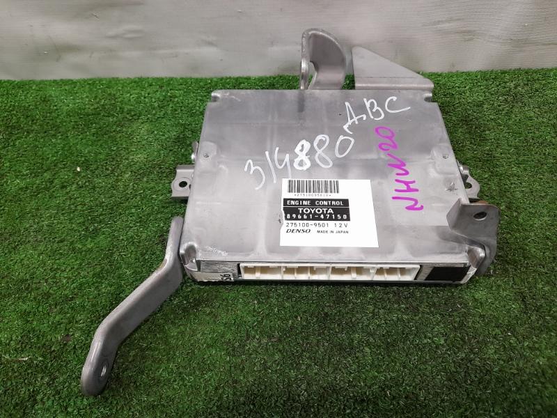 Компьютер Toyota Prius NHW20 1NZ-FXE 2005 Блок управления ДВС.