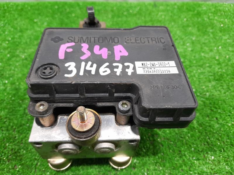 Блок abs Mitsubishi Diamante F34A 6A13 1997