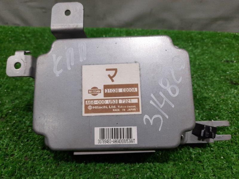 Компьютер Nissan X-Trail T30 QR20DE 2003 A64-000U537321 Блок управления АКПП, 2WD