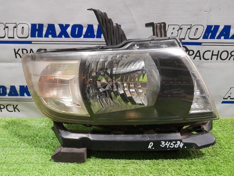 Фара Honda Mobilio Spike GK1 L15A 2005 передняя правая 100-22609 ХТС, правая, галоген, с корректором, с