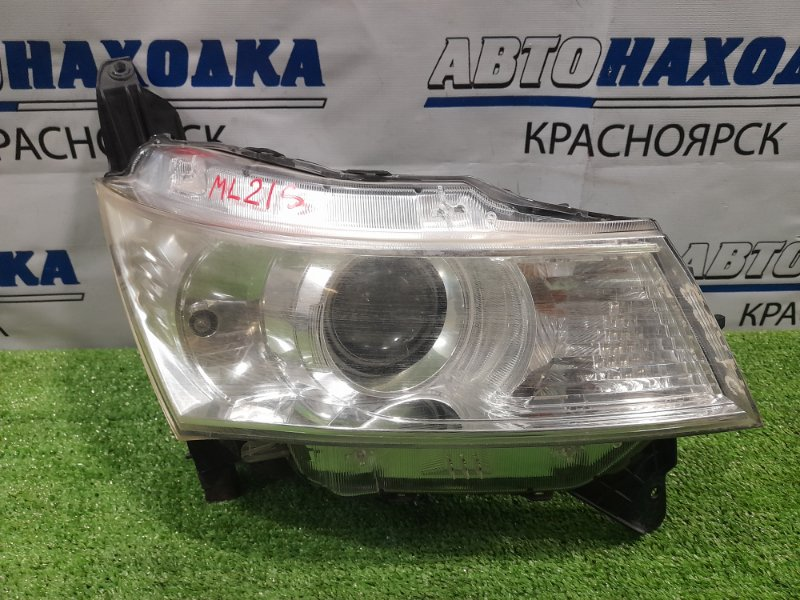 Фара Nissan Roox ML21S K6A 2009 передняя правая 100-59207 правая, под ксенон, без блока и лампы, с