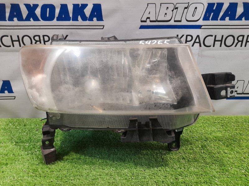 Фара Toyota Bb QNC21 3SZ-VE 2005 передняя правая B1-2 правая, под ксенон без блока и лампы, с