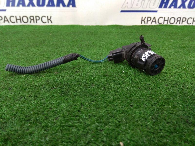 Мотор омывателя Toyota Belta KSP92 1KR-FE 2005 на 1 выход, нового образца, с фишкой на 2 контакта,