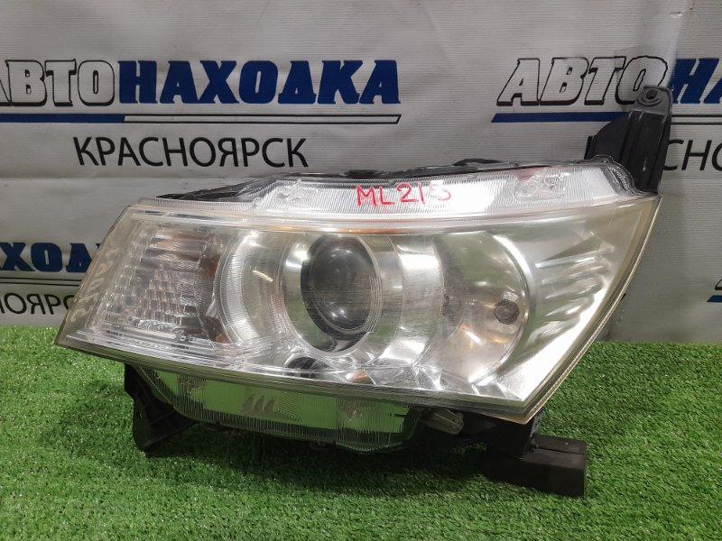 Фара Nissan Roox ML21S K6A 2008 передняя левая 100-59207 левая, под ксенон, без блока и лампы, с