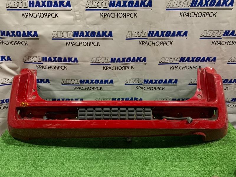 Бампер Honda Mobilio Spike GK1 L15A 2002 задний задний, дорестайлинг, пошоркан, есть вмятинка, без