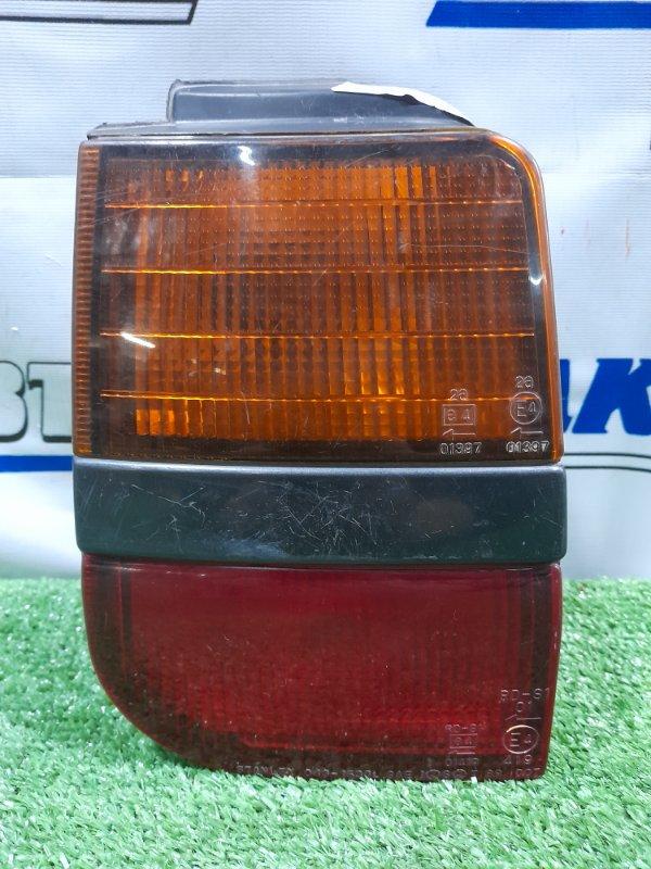 Фонарь задний Mitsubishi Chariot N33W 4G63 1991 задний левый 043-1536 левый, 043-1536, многочисленные
