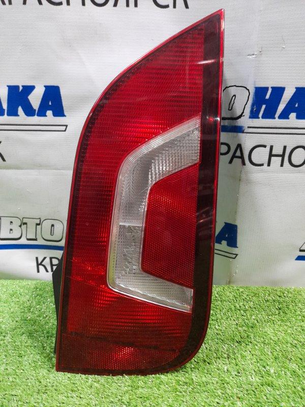 Фонарь задний Volkswagen Up 121 CHYA 2011 задний правый 6485 левый, дорестайлинг, 6485,