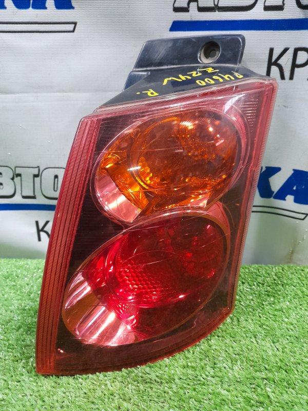 Фонарь задний Mitsubishi Colt Plus Z24W 4A91 2004 задний правый P4600 ХТС, правый, красное стекло, P4600,