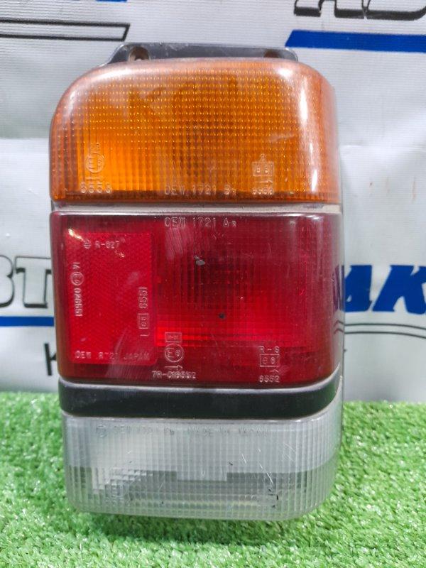 Фонарь задний Subaru Rex KG1 EK23 1986 задний правый 1721 правый, 1721