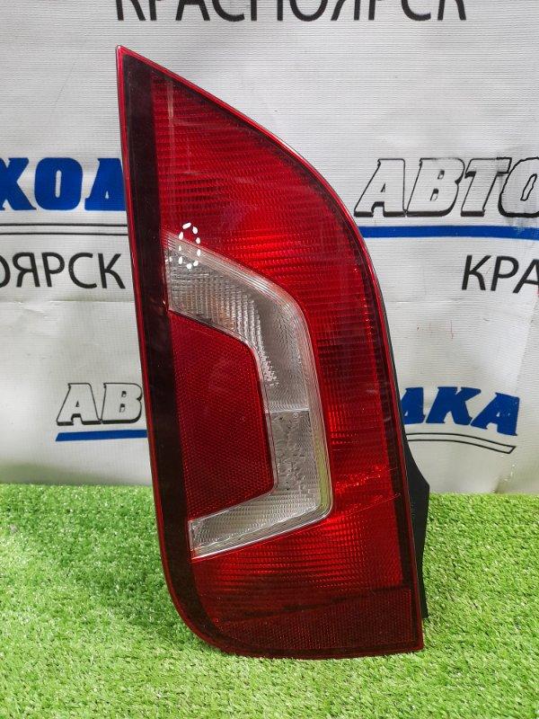 Фонарь задний Volkswagen Up 121 CHYA 2011 задний левый 6485 левый, дорестайлинг, 6485, трещина по