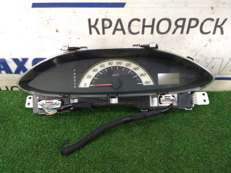 Щиток приборов Toyota Belta KSP92 1KR-FE 2005 1 модель, CVT, без тахометра, с фишками, пробег 101 т.км