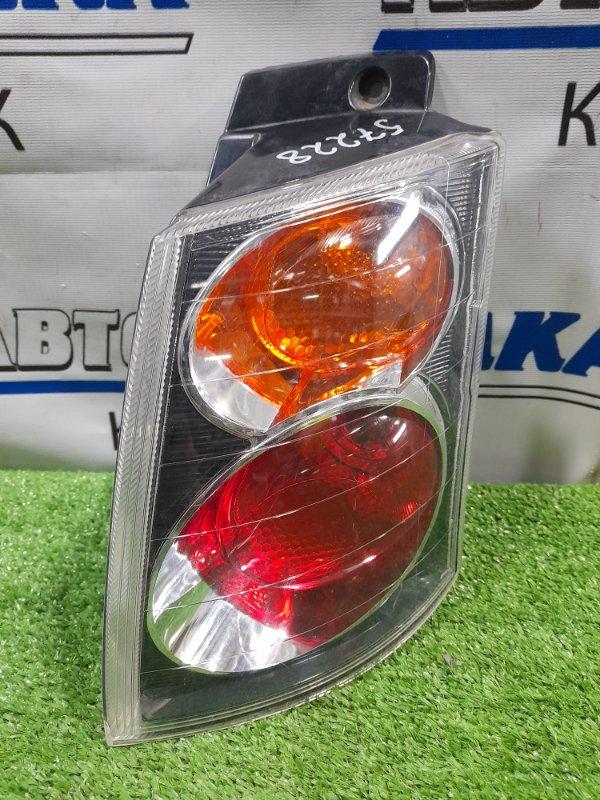 Фонарь задний Mitsubishi Colt Plus Z24W 4A91 2004 задний правый P4600 правый, белое стекло, P4600,