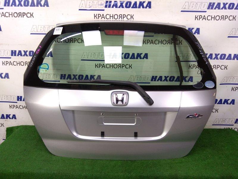 Дверь задняя Honda Fit GD1 L13A 2004 задняя ХТС, 2 модель, в сборе, серая (NH700M)