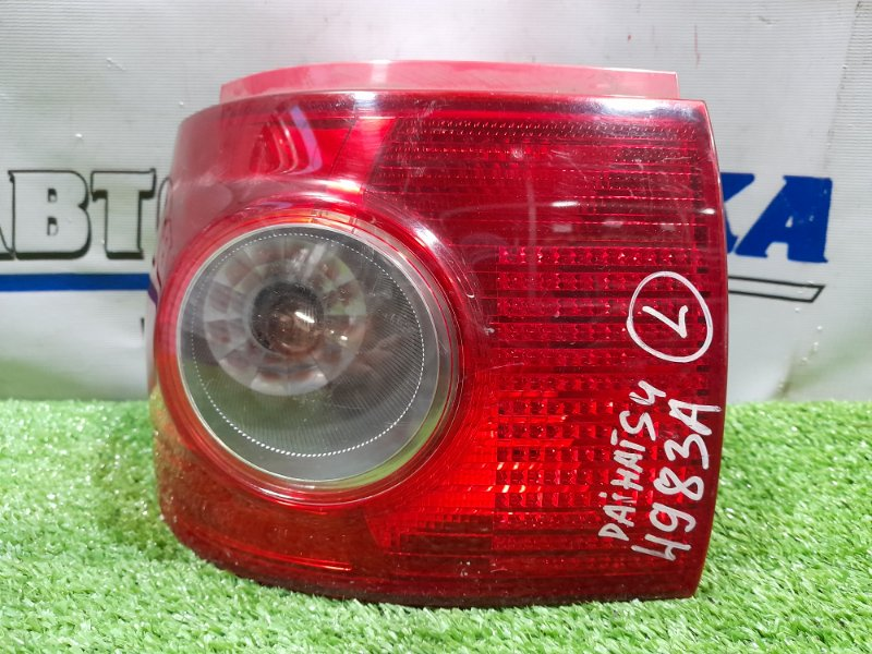 Фонарь задний Daihatsu Tanto L350S EF-VE 2003 задний левый 4983A левый, 4983A, подломан пластик