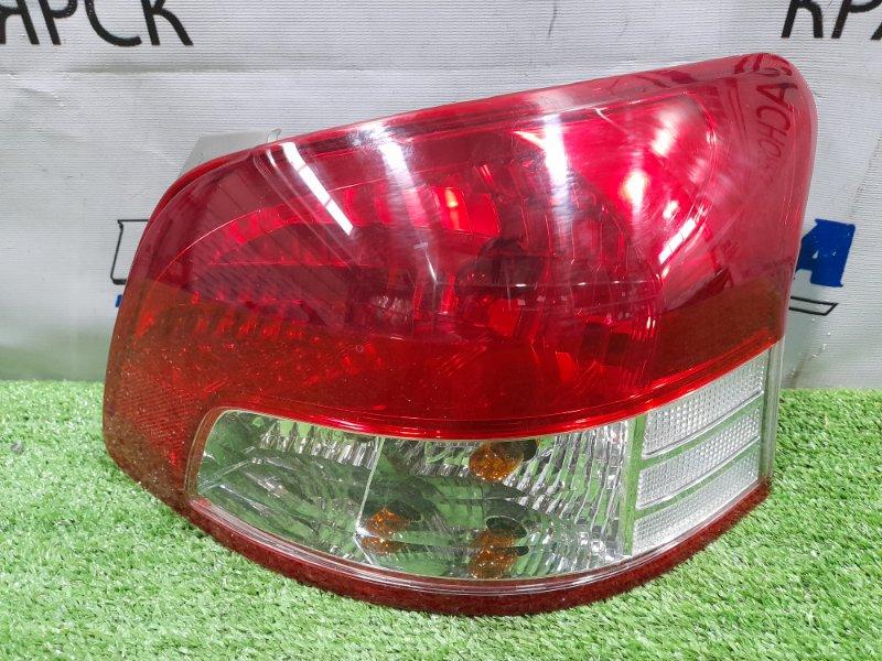 Фонарь задний Toyota Belta SCP92 2SZ-FE 2005 задний правый 52-162 ХТС, правый, 52-162