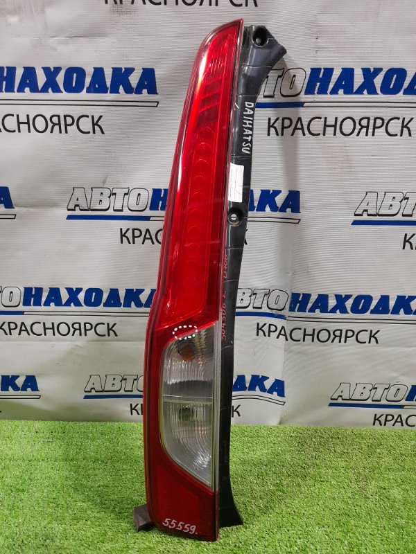 Фонарь задний Daihatsu Move LA100S KF 2012 задний левый D166 левый, рестайлинг, D166, трещина в районе