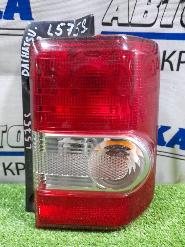 Фонарь задний Daihatsu Move Conte L575S KF 2008 задний правый 20508 правый, 20508