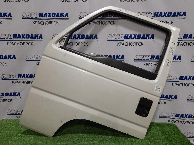 Дверь Honda Acty HH3 E07A 1990 передняя левая передняя, левая, белый перламутр, механический ст