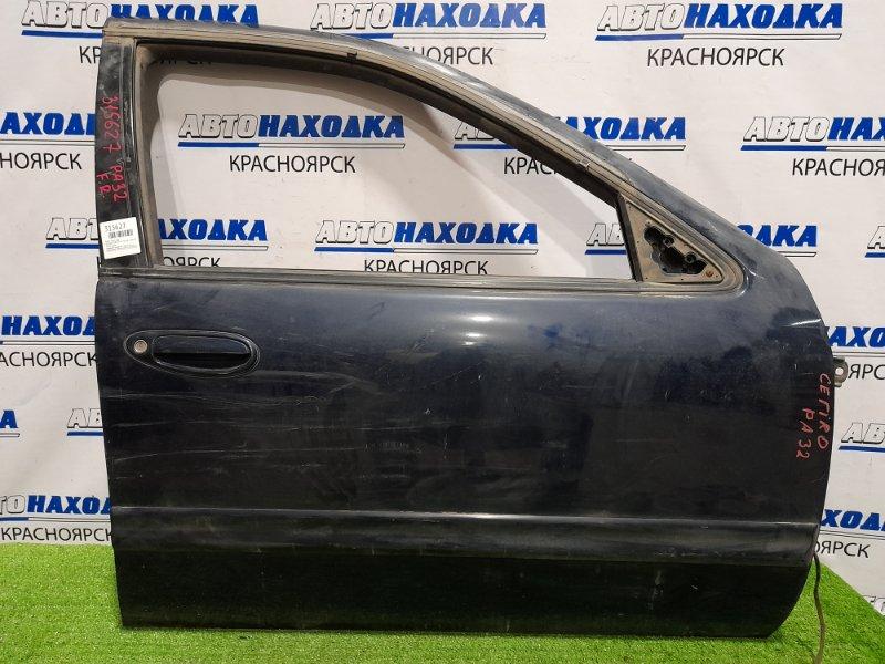 Дверь Nissan Cefiro PA32 VQ25DE 1994 передняя правая передняя правая, без блока упр. ст. подъёмника,