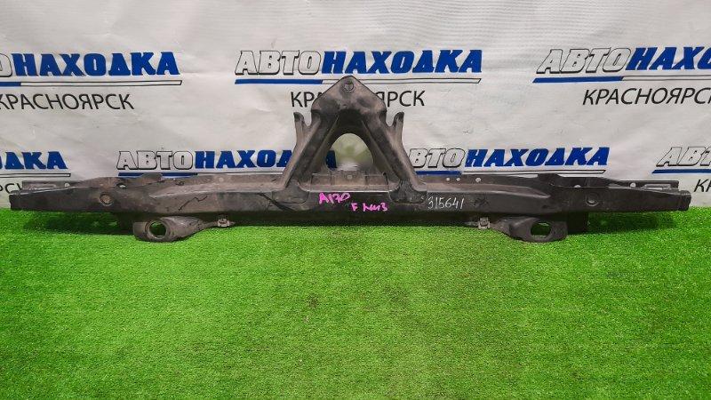 Рамка радиатора Mercedes-Benz A170 169.032 266.940 2004 передняя нижняя нижняя часть