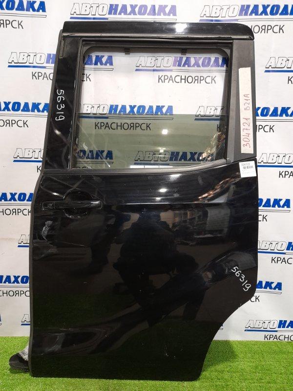 Дверь Nissan Dayz Roox B21A 3B20 2014 задняя левая задняя, левая, сдвижная, в сборе, чёрная,