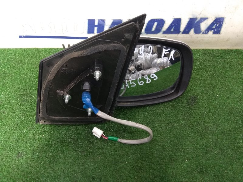 Зеркало Toyota Belta KSP92 1KR-FE 2005 переднее правое переднее правое, серое (1E7), 5 контактов, 1