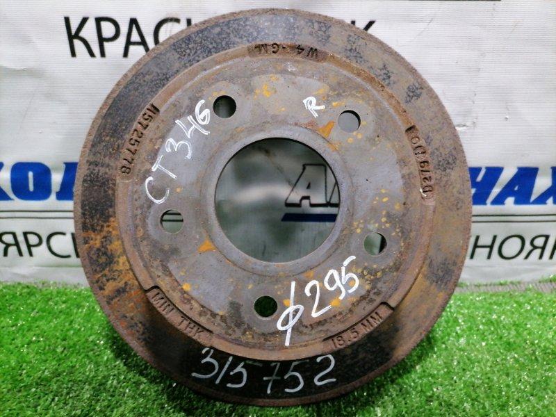 Диск тормозной Chevrolet Blazer CT34G L35 1998 задний задний, диаметр 295 мм