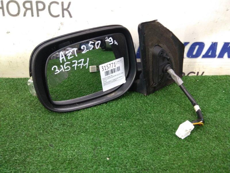 Зеркало Toyota Avensis AZT250W 1AZ-FSE 2006 переднее левое переднее левое, 2 модель (рестайлинг),