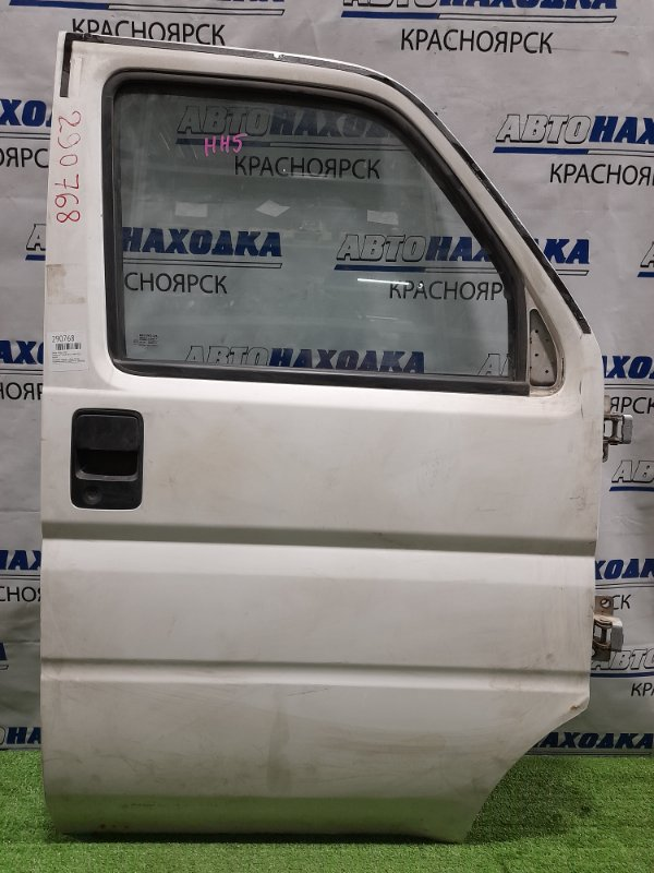 Дверь Honda Acty HH5 E07A 1999 передняя правая передняя, правая, в сборе, белая, механический ст.