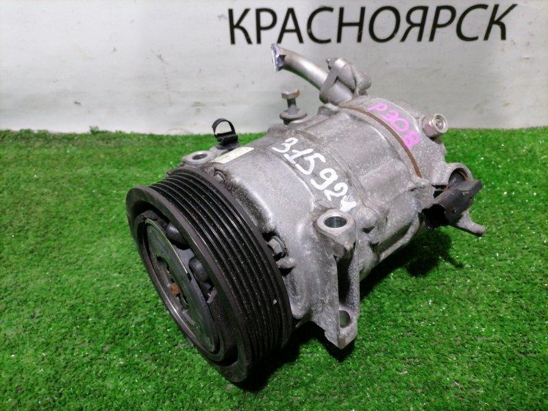 Компрессор кондиционера Peugeot 308 T7 EP6CDT 2007 447150-1740 пробег 62 т.км. Дефект шкива. С