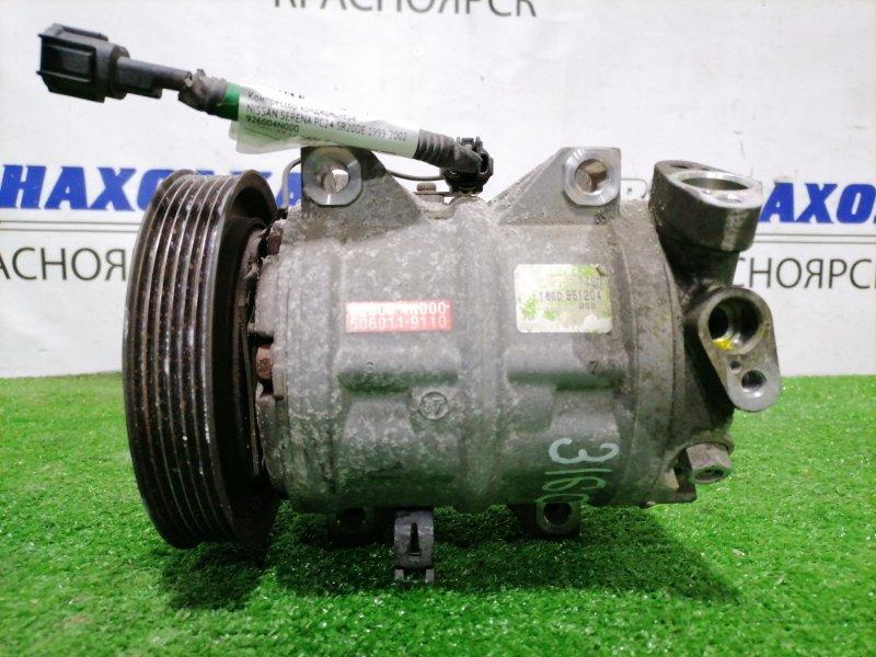 Компрессор кондиционера Nissan Serena PC24 SR20DE 1999 пробег 83 т.км. ХТС. С аукционного авто.