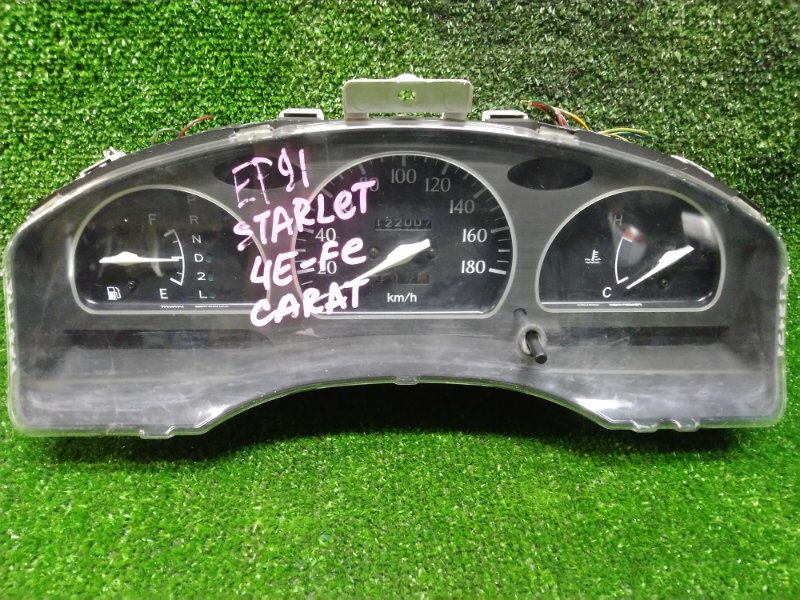 Щиток приборов Toyota Starlet EP91 4E-FE 83800-10320 A/T. (МЕХ СПИДОМЕТР) CARAT