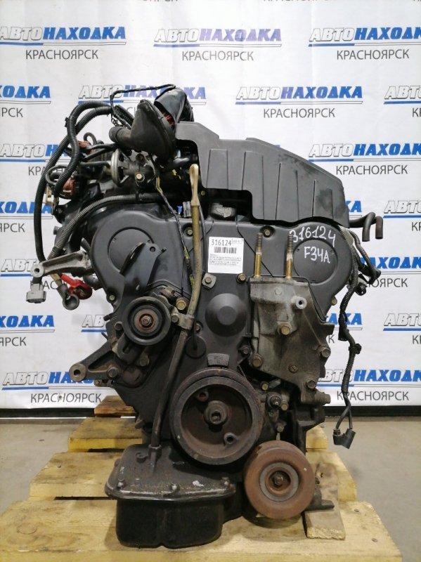 Двигатель Mitsubishi Diamante F34A 6A13 1997 6A13-4-K2, BQ8721 № BQ8721 пробег 77 т.км. 12.2003 г.в. ХТС. С