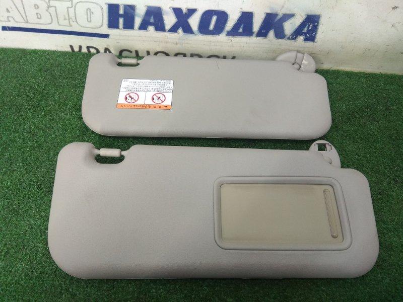Козырек солнцезащитный Toyota Belta KSP92 1KR-FE 2005 Пара, серые- Trim код: FB40