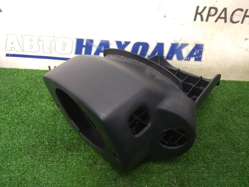 Кожух рулевой колонки Toyota Corolla Runx NZE121 1NZ-FE 2001 из 2-х двух частей, черный